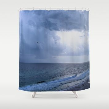 GOD's EYE Shower Curtain by Theresa Campbell D'August Art