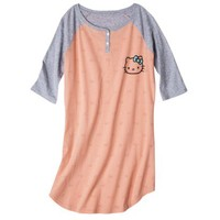 Hello Kitty Juniors Sleeptee - Pink