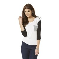 Women's Color-Blocked Long Sleeve Tee