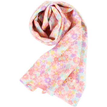 Onegai my melody cool scarf flower ☆ Sanrio UV protection series ★ kuroneko DM flights cannot be 10P18Jun16