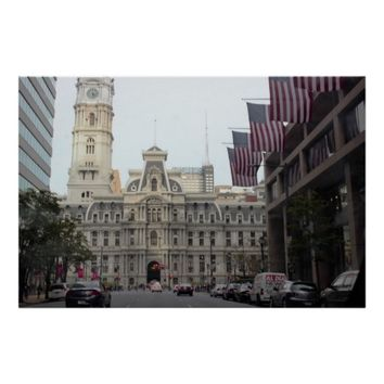 City Hall Philadelphia Photo Poster