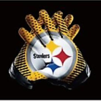 Pittsburgh Steelers American Football flag 90 * 150CM decorative 100D sports gloves free shipping NFL flag Super Bowl logo BC334