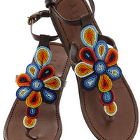 Long Walks on the Beads Sandal | Mod Retro Vintage Sandals | ModCloth.com