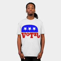 Republican Elephant T Shirt By Mailboxdisco Design By Humans