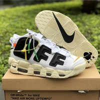 Nike Air More Uptempo x Off-White Sport Shoes 36-46