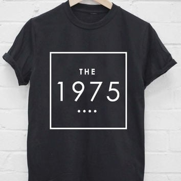 Custom Tshirt the 1975 screenprint