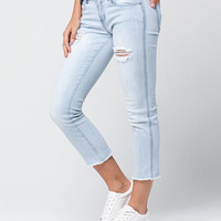INDIGO REIN Straight Crop Womens Jeans | Ankle