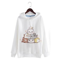 Japanese Kawaii Neko Sweater SD01138