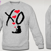 XO The Weeknd Crewneck Sweatshirt XO Ovoxo Drake Crew Love Hoodie Crew Love Tee