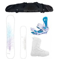 Hot Deal Cheyenne and Lux Complete Women's Snowboard Package
