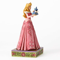 "Disney Jim Shore Traditions Aurora with Fairy ""Wonder and Wisdom"" New Box"