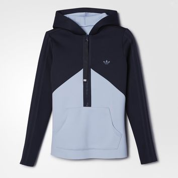 adidas Helsinki Authentic Hoodie - Blue | adidas US