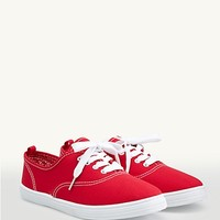 Lace-Up Oxford Sneakers