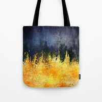 My burning desire Tote Bag by HappyMelvin