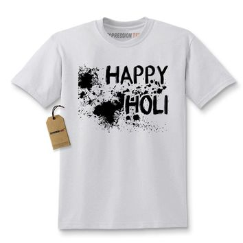 Happy Holi Indian Hindu Spring Festival Kids T-shirt