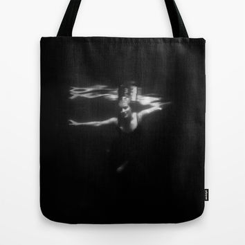 Underwater Dreaming Tote Bag by Nicklas Gustafsson