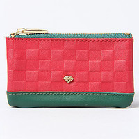 Diamond Supply Co. The Checker Chain Card Pouch in Red Green Gold : Karmaloop.com - Global Concrete Culture