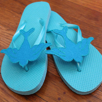 sparrow pin up inspired flip flops