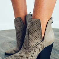 Make Time Booties: Stone