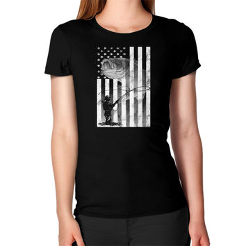 Aamerican fishing Women's T-Shirt