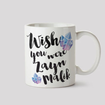 Zayn Malik/One Direction/1D/Directioner/Wish you Were/Mug/Office/BFF/Christmas/Gift/White Elephant/Secret Santa/Fangirl/Modern