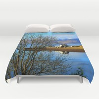 Bliss Duvet Cover by Haroulita | Society6