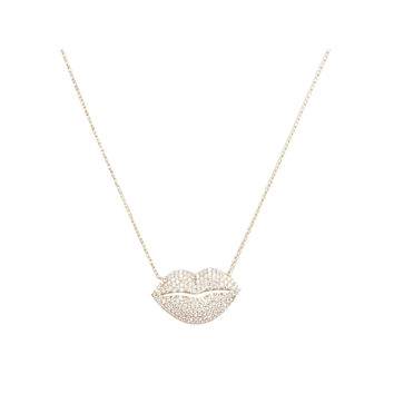 kissable Lip necklace