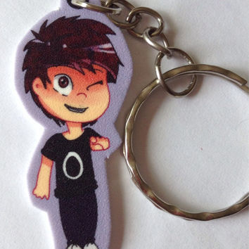 Dan and Phil Keychains!