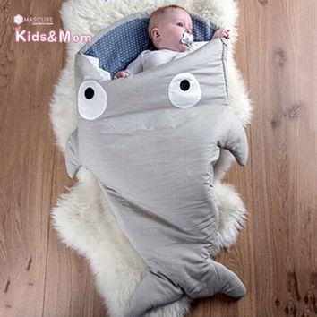 LMFUNT Hot Sale Baby Blankets Newborn Animal Shape Infant Swaddle Sleeping Bag Baby Bedding Envelope for Newborns Mermaid Tail Blanket
