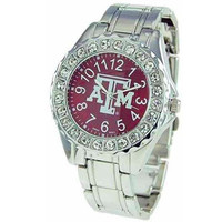 Women's Texas A&M Aggies Stoned Metal Band Watch
