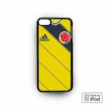 CREYONS Colombia Soccer Jersey for custom case iPod 6
