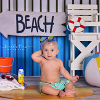 PJ's Lifeguard Stand - Chair Toddler Photo Prop