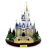 Main Street USA Cinderella Castle Miniature by Olszewski Walt Disney World Exclusive