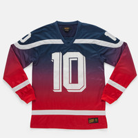 10Deep | Tops | Bruisers Polyknit Hockey Jersey - Red