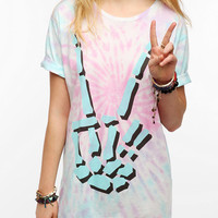 Urban Outfitters - Strange Days Peace Tie-Dye Tee