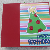 6x6 Birthday Scrapbook Photo Album