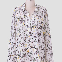 Splendid Morning Floral Blouse