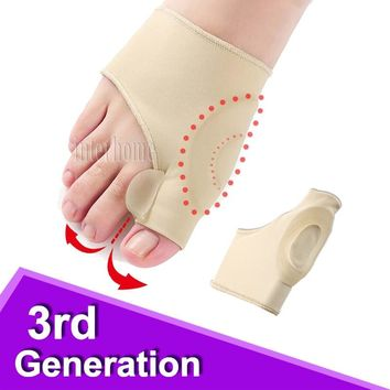 Hosiery Liners Silicone Gel Correction Socks Hallux Valgus Corrector Bunion Orthopedic Thumb Pedicure Toes Separator Foot Care