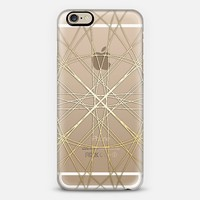 Spun Gold - on shine through transparent iPhone 6 case by Perrin Le Feuvre | Casetify