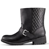 Cushion Walk® Out-and-About Moto Bootie