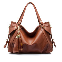 Tonne Leather Hobo