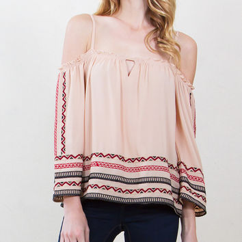 Cora Embroidered Top