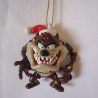 Taz Tasmanian Devil (Looney Tunes) Christmas Tree Ornament Warner Bros