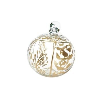 Glass Decorated Ornament