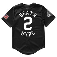 Death 2 Hype Baseball Jersey (BLACK)