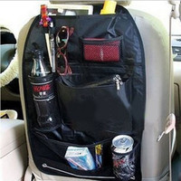 3 color Car Storage  multi Pocket  Organizer Arrangement Bag of Back seat of chair Free shipping
