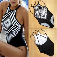 women swimwear sport swimming suit one piece swimsuit plus size bathing suit high neck plavky swim wear