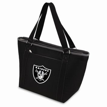 Oakland Raiders Insulated Black Cooler Tote