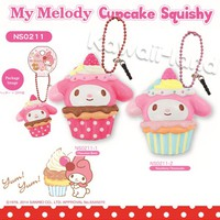 Sanrio Licensed My Melody Cupcake Squishy