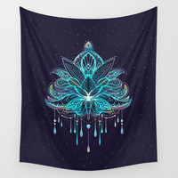 Mandala Wall Tapestry by printapix